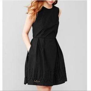 Gap Fit and Flare Eyelet Dress